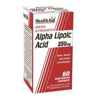 Alpha Lipoic Acid 250mg 60's