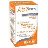 A to Z Multivit with Lutein 30's