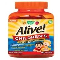 Alive! Childrens Soft Jell Multi-Vitamin 60's