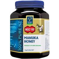 MGO 100+ Pure Manuka Honey 1kg