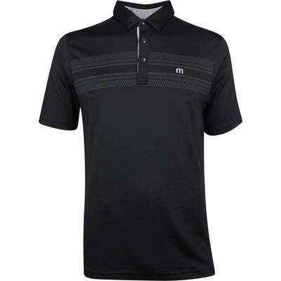 TravisMathew Golf Shirt Crow Polo Black SS19
