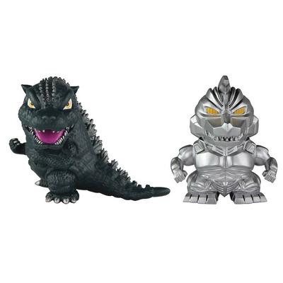Godzilla ChiBi Figure 2 Pack - Godzilla & Mechagodzilla