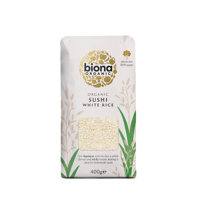 Biona Organic Sushi Rice 400g