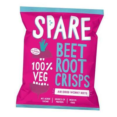 Spare Snacks Air Dried Beetroot Crisps 22g