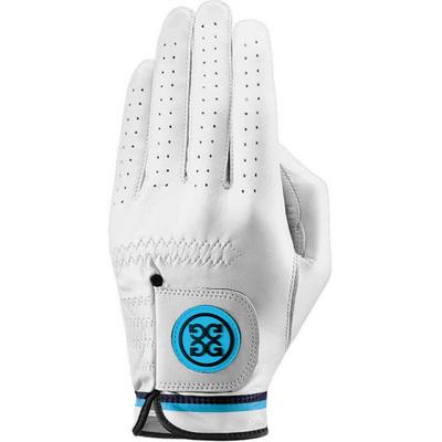 GFORE Golf Glove Competition Stripe White Pacific 2019