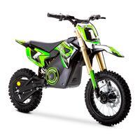 FunBikes MXR 1300w Lithium Electric Motorbike 65cm Green Kids Dirt Bike