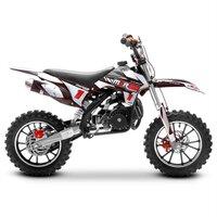 Image of FunBikes MXR 50cc Motorbike 61cm Black Kids Dirt Bike