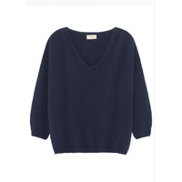 Vikiville Long Sleeve Jumper - Navy