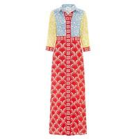 Jasmine Long Shirt Dress - Multi