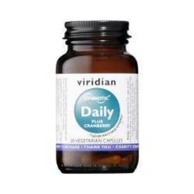 Viridian Synerbio Daily Plus Cranberry 30 Capsules