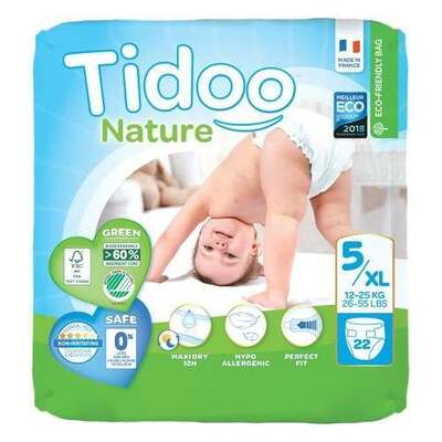 Tidoo Nappies Size 5XL - 22 Nappies