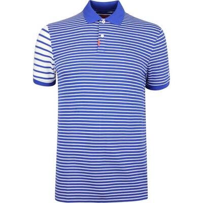Nike Golf Shirt The Nike Polo Stripe Slim Indigo Force SS19