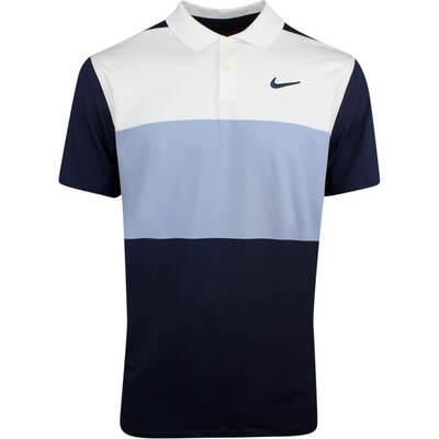 Nike Golf Shirt Vapor Colour Block Obsidian SS19