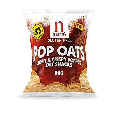 Nairn's Gluten Free BBQ Pop Oats - Pack of 7