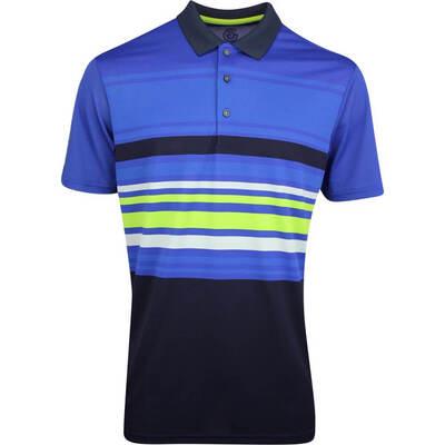Galvin Green Golf Shirt Miguel Surf Blue AW19