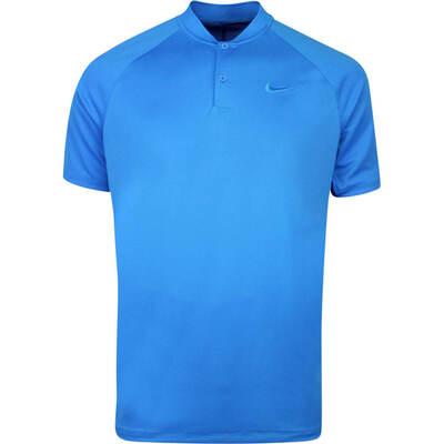 Nike Golf Shirt NK Dry Momentum Blade Photo Blue AW19