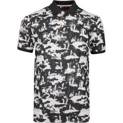 Nike Golf Shirt The Nike Polo Graphic Slim Off Noir AW19