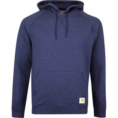 PUMA Golf Pullover Ivies Hoodie Peacoat Heather AW19