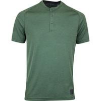 Image of adidas Golf Shirt - Adicross No Show Henley - Legend Earth AW19