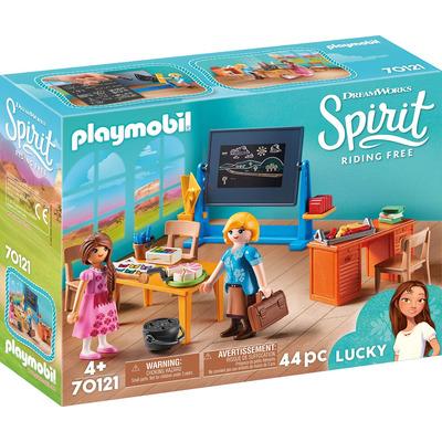 Playmobil DreamWorks Spirit Miss Flores Classroom