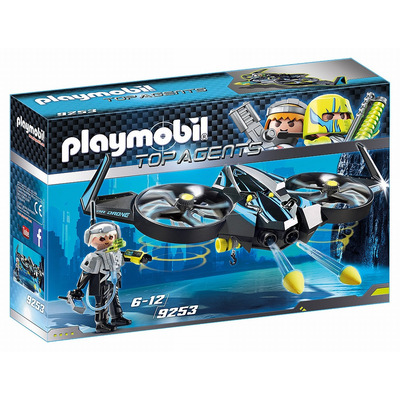 Playmobil Mega Drone With Firing Weapons