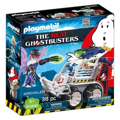 Playmobil Ghostbusters Spengler With Cage Vehicle