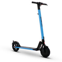 Gotrax GXLV2 250W 36v Lithium Blue Folding Adult Electric Scooter