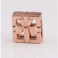 Rose Gold Sweet Gift Box Charm For Reflexions