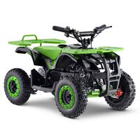 Image of FunBikes Ranger 800w Green Kids Electric Mini Quad Bike V2