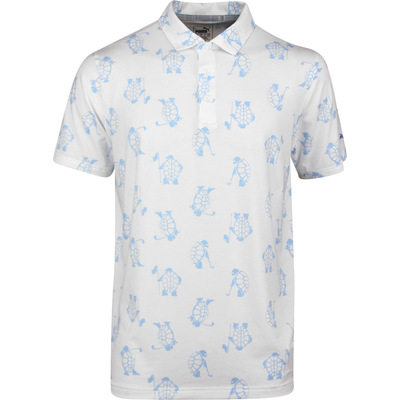 PUMA Golf Shirt Slow Play Polo Bright White SS20