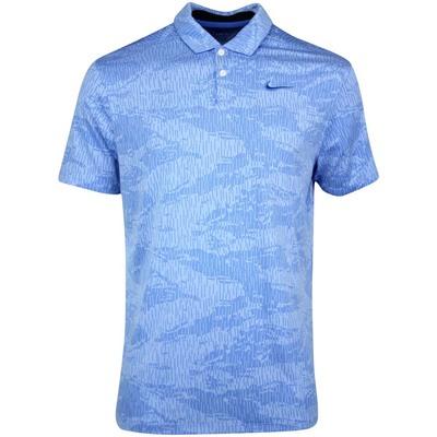 Nike Golf Shirt NK Dry Vapor Camo Jacquard Pacific Blue SS20