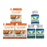 Image of Turmeric Pro with BioPerine® & DetoxPlus Combo Pack - 3 Month Supply