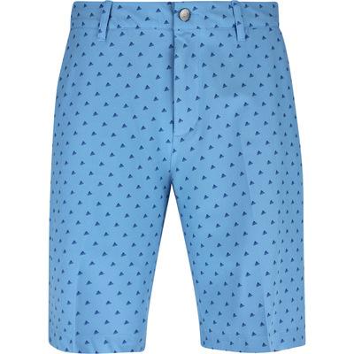 adidas Golf Shorts Ultimate BOS Novelty Print Light Blue SS20