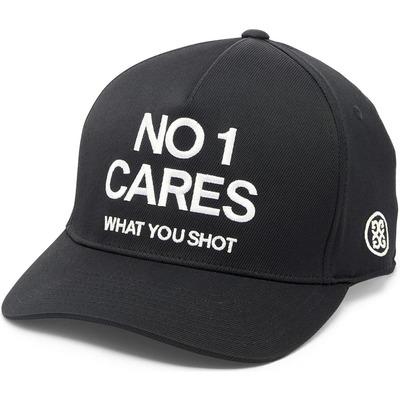GFORE Golf Cap No1 Cares Snapback Onyx 2020