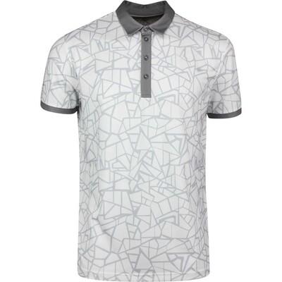 Galvin Green Golf Shirt Markell White SS20