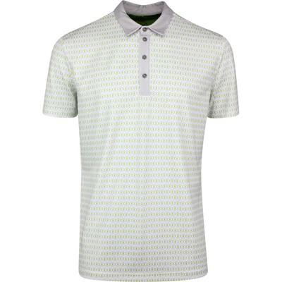 Galvin Green Golf Shirt Mario White SS20