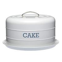 Living Nostalgia Airtight Cake Tin in Grey