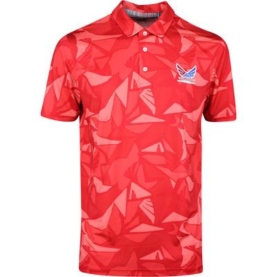 PUMA Golf Shirt Volition Americamo Polo Barbados Red SS20