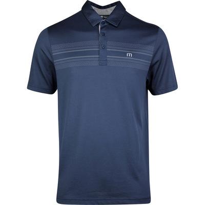 TravisMathew Golf Shirt Crow Polo Blue Nights SS20