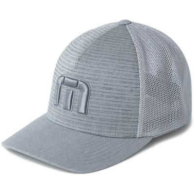 TravisMathew Golf Cap Iced Tea Icon Mesh Heather Grey SS20