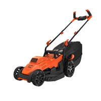 Black & Decker 34cm 1400W Lawnmower with Ergonomic Handles