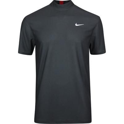 Nike Golf Shirt TW Dry Mock Neck Dark Smoke SU20