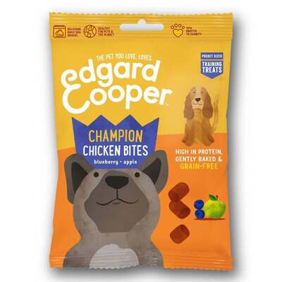 Edgard & Cooper Chicken Treats for Dogs 50g