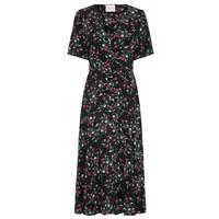 Midi Belted Silk Dress - Eve