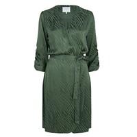 Hayden Wrap Dress - Soft Moss