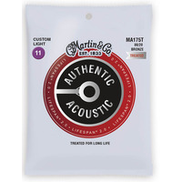 Martin Acoustic Lifespan 2.0 Bronze Custom Light Guitar Strings