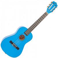 1/2 Junior Acoustic Guitar Pack Metallic Blue