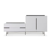 Gillmore Space &pipe; Alberto Door & Drawer Combination Sideboard