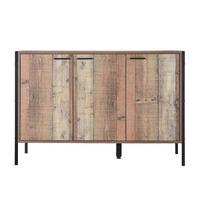 LPD Furniture &pipe; Hoxton Sideboard 3 Door