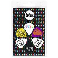 Beatles 6 Guitar Picks Pack - Help